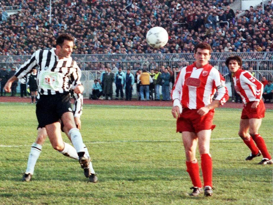 Budimir Vujačić Partizan Crvena zvezda