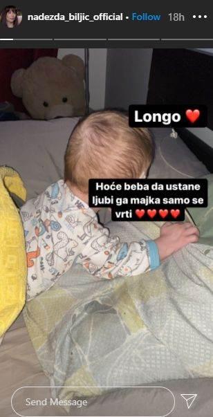 Nadeždin i Tomin sin Longo