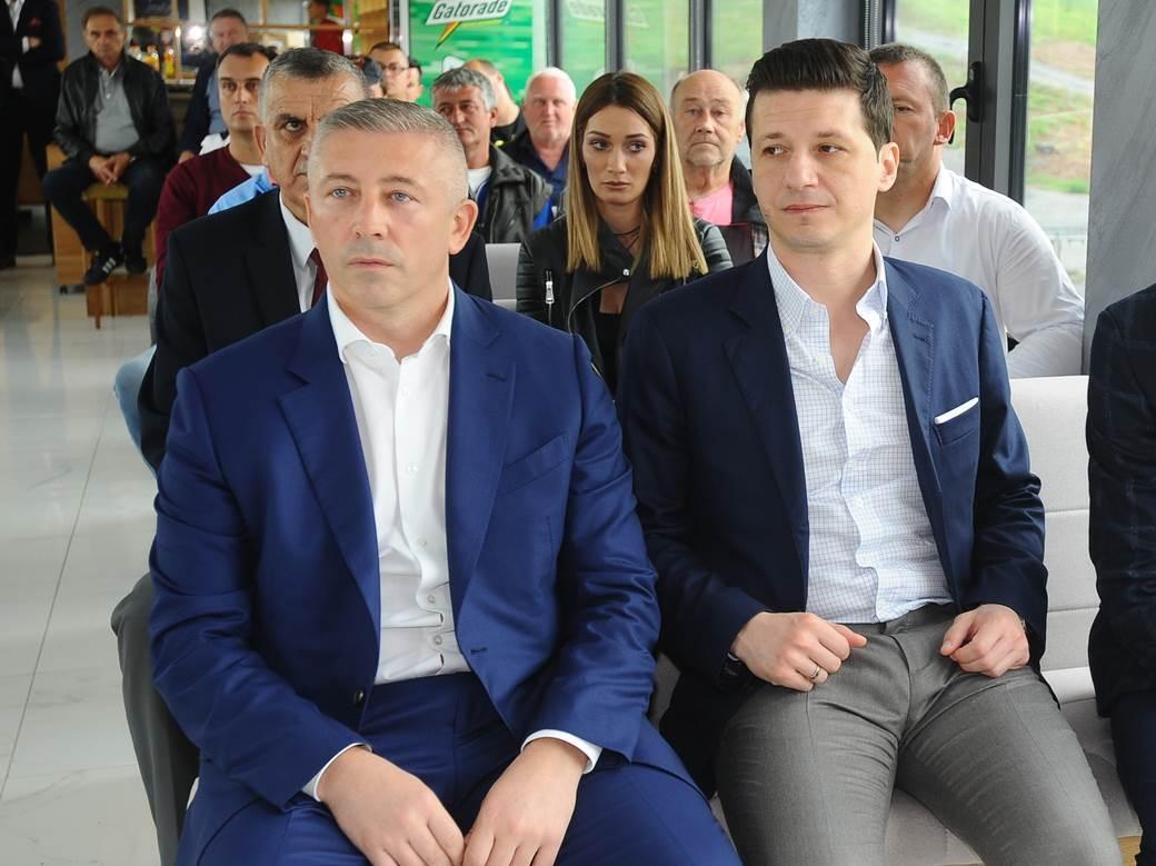 Slaviša Kokeza i Marko Pantelić.