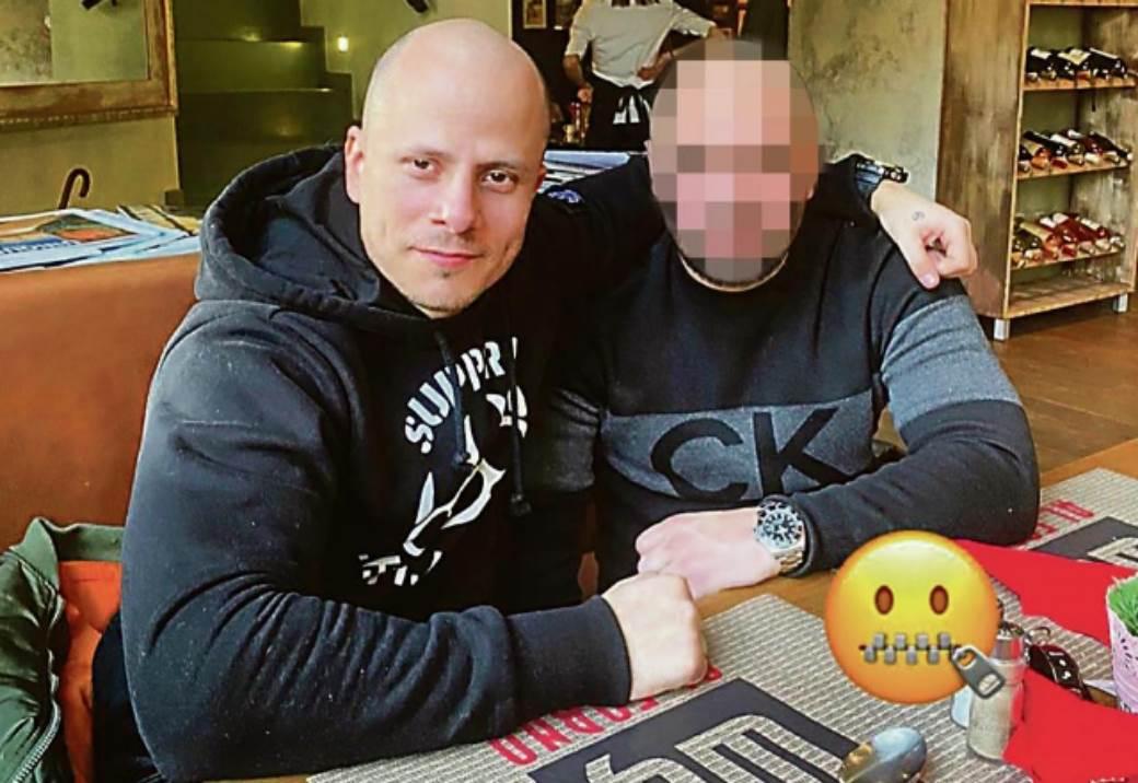 Pavle Bihali sa čovekom koji je pucao zbog saobraćajke