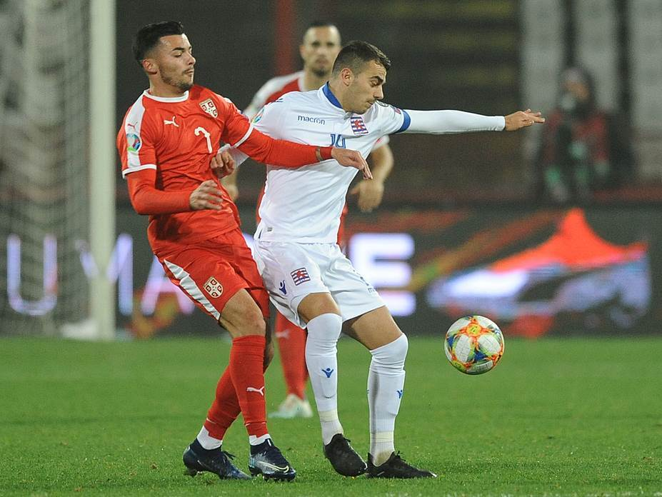 FOOTBALL;QUALIFYING ROUND;SERBIA;LUXEMBOURG