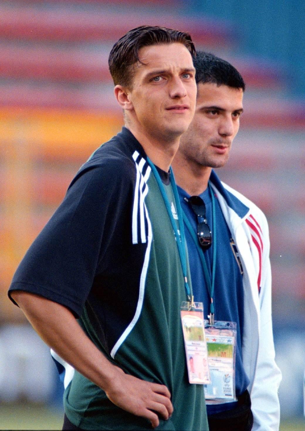 Dejan Stanković i Milenko Aćimović.