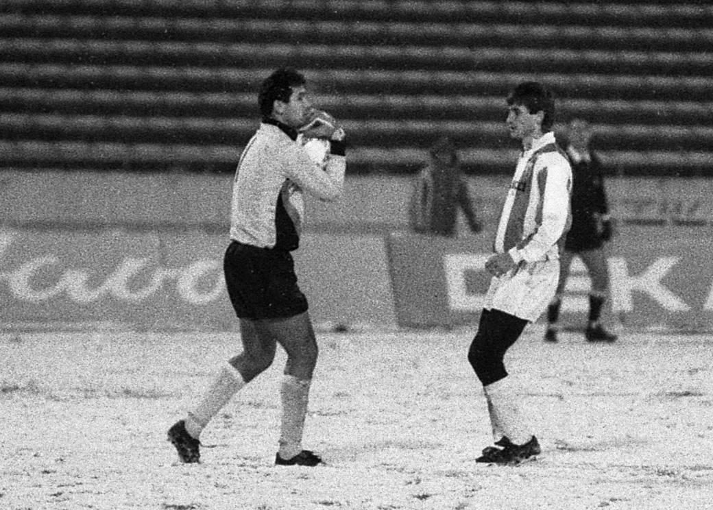 Dražen Ladić i Miloš Bursać, Zvezda - Dinamo 1988.