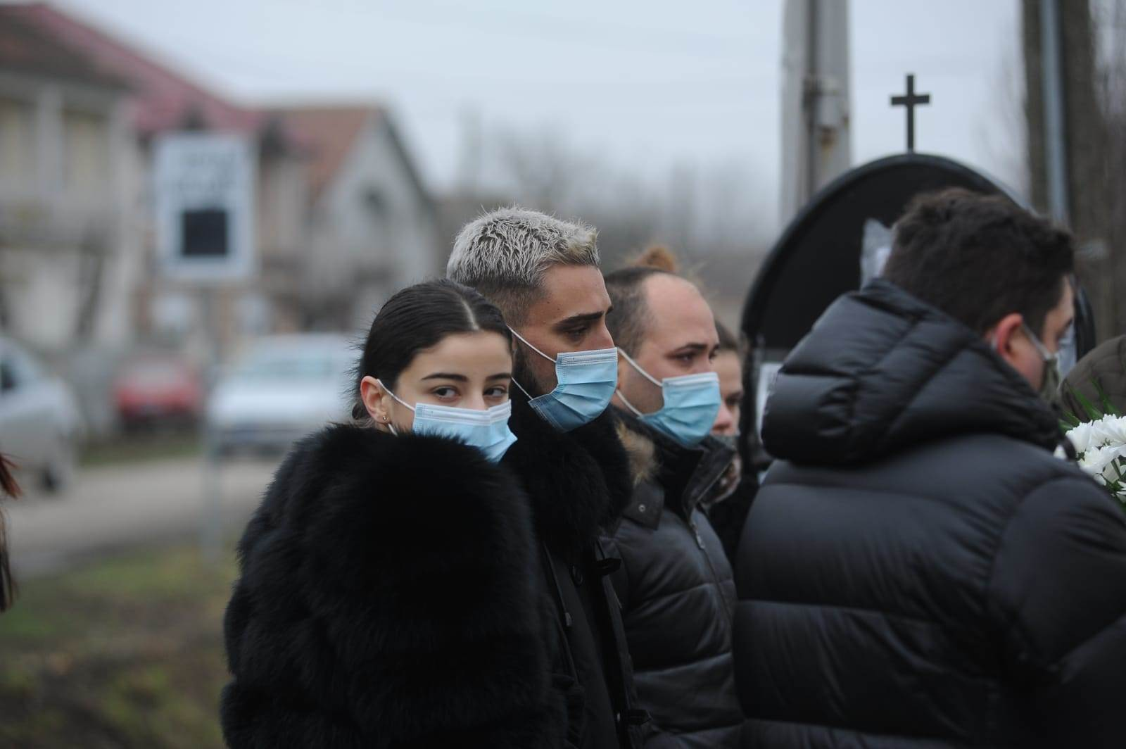Darko Lazić Marina Gagić sahrana Milana Lazića