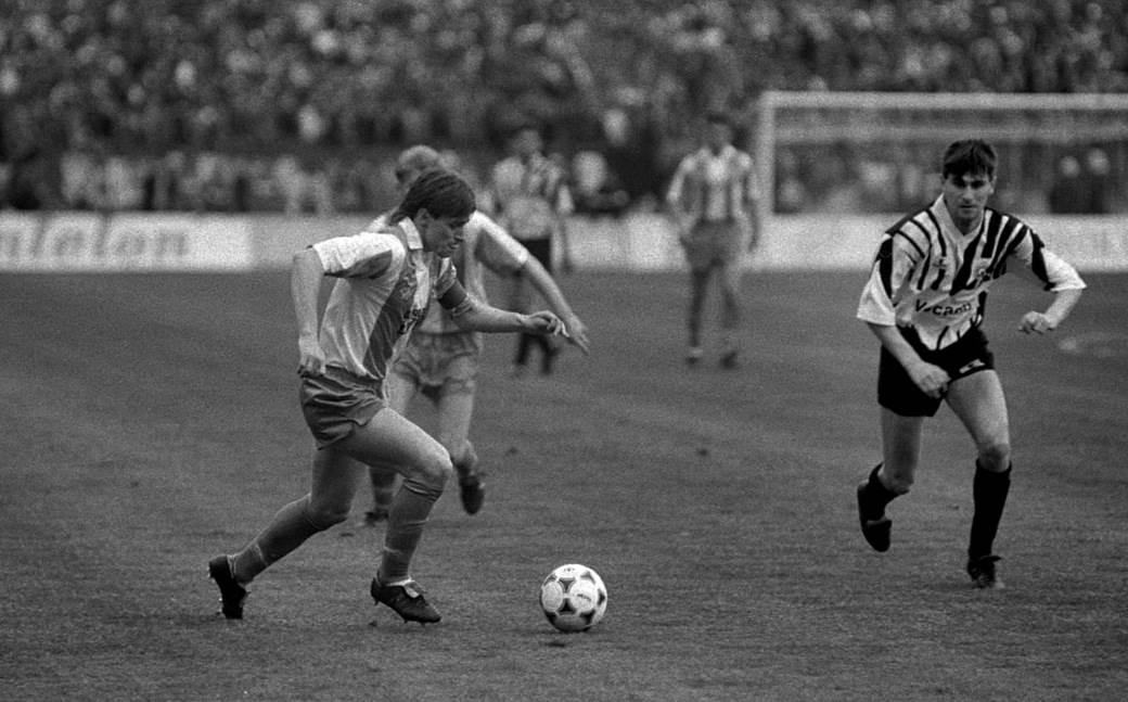 Dragan Stojković Piksi i Goran Milojević u Kup susretu 1990.
