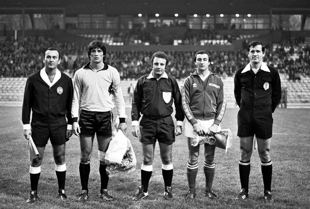 Ratko Svilar 1978. u dresu Vojvodine na utakmici protiv Bristol sitija