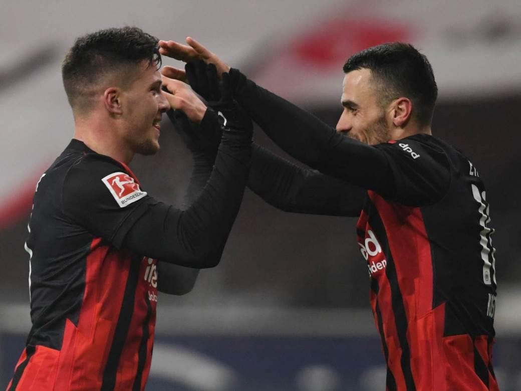 Luka Jović i Filip Kostić.