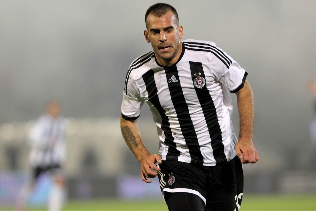 Nikola Škuletić u Partizanu.