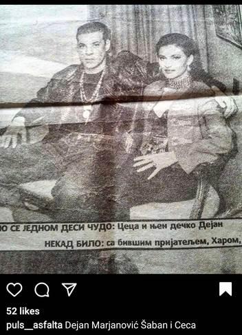Ceca i Dejan Marjanović Šaban