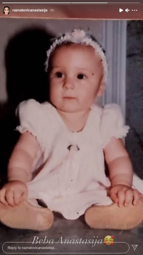 Anastasija kao beba Instagram foto