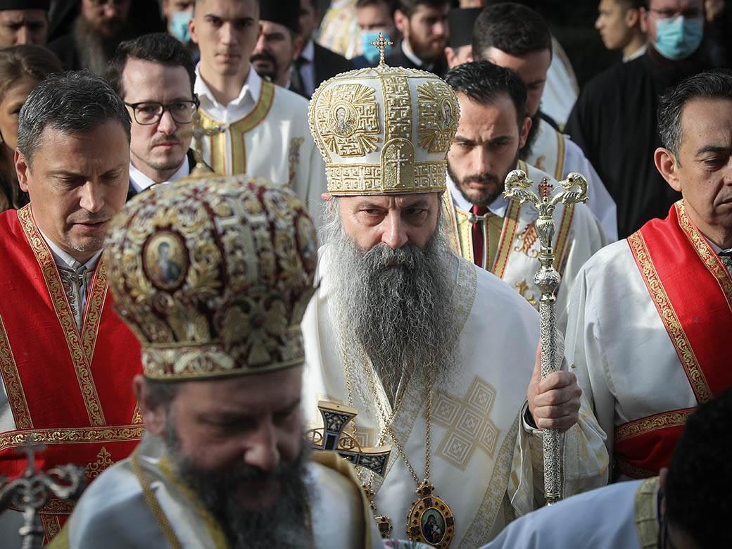 porfirije patrijarh crkva sveštenstvo pop