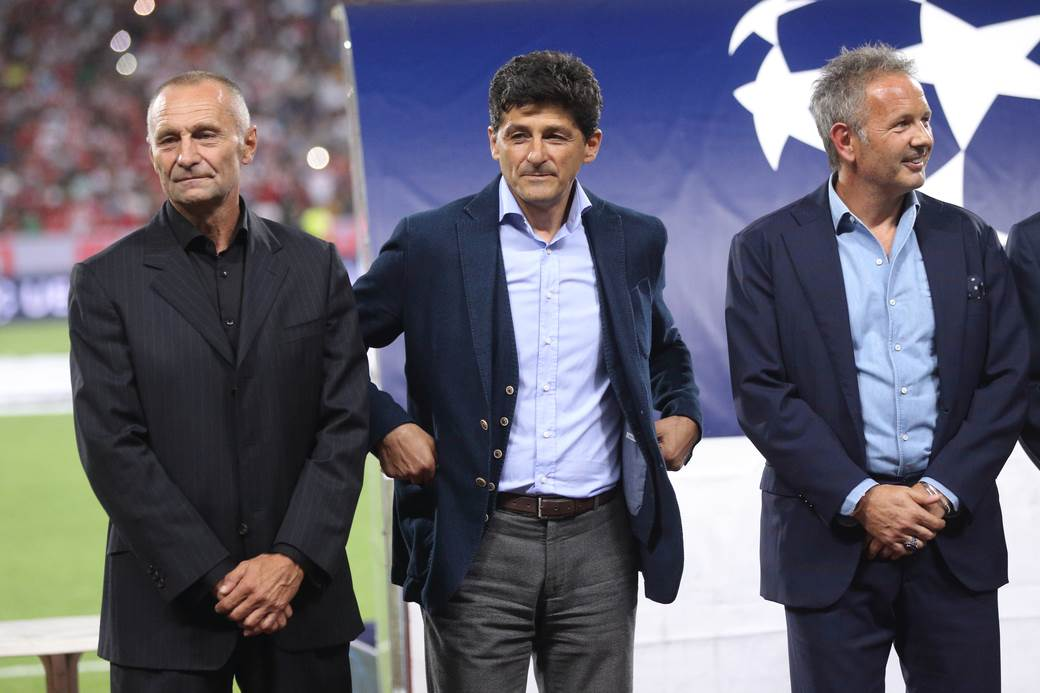 Dragiša Binić, Miodrag Belodedić, Siniša Mihajlović