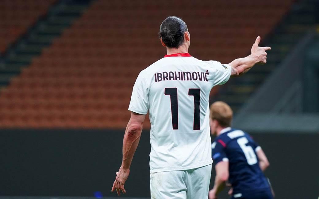 zlatan ibrahimović milan crvena zvezda