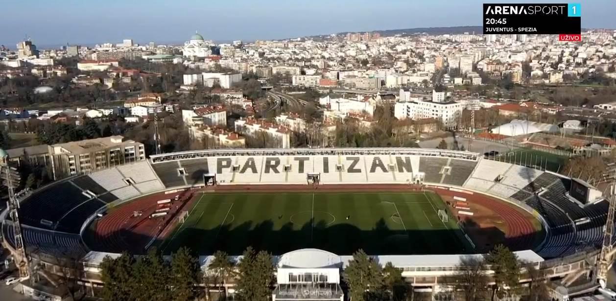 FK Partizan stadion Humska JNA