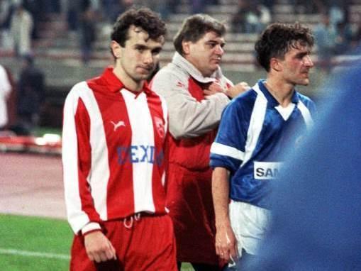 FOOTBALL;DINAMO;CRVENA ZVEZDA;RED STAR