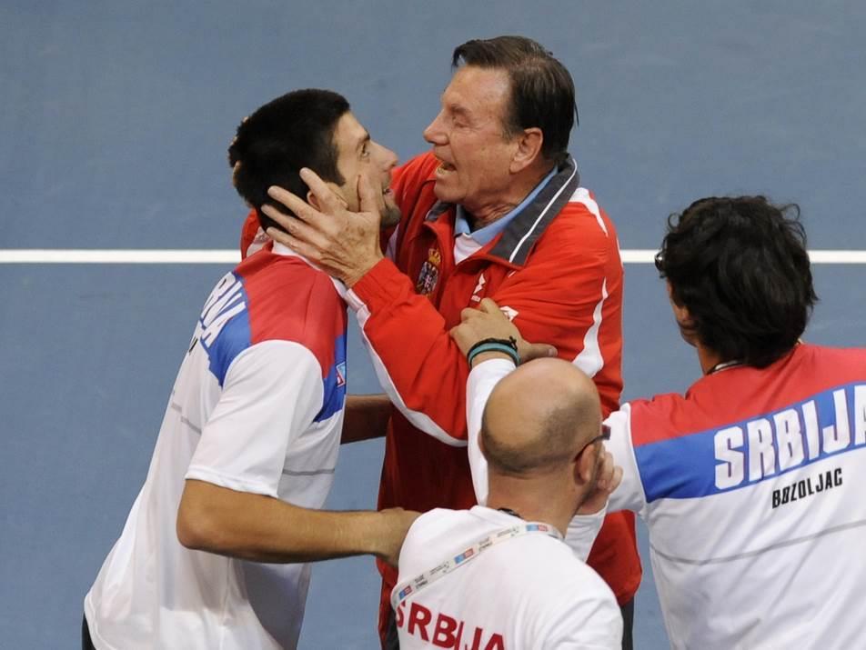 Novak Đoković i Nikola Pilić