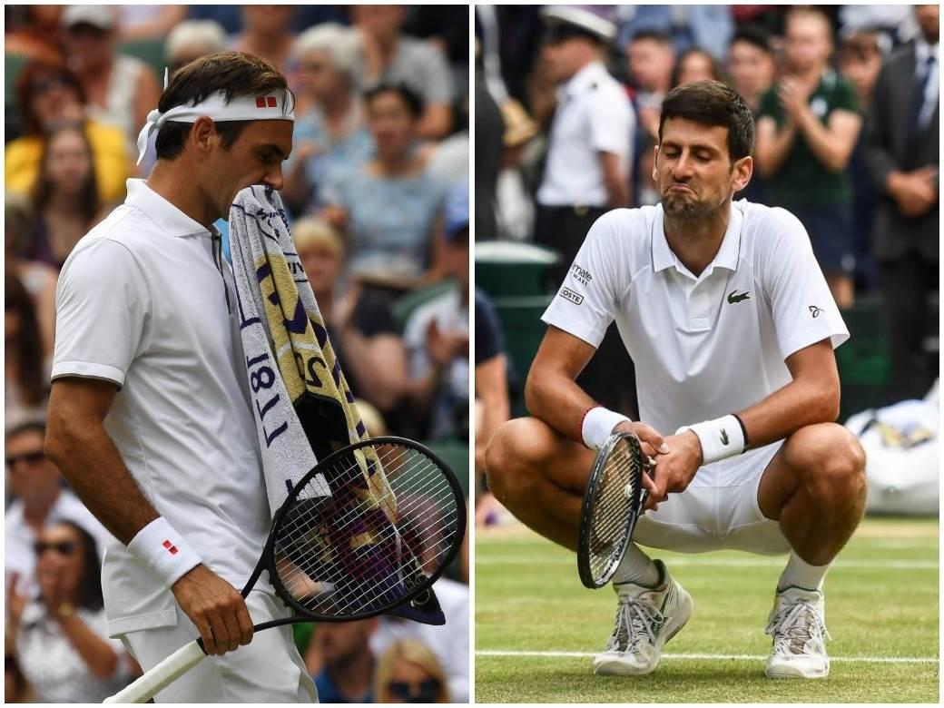 Novak Đoković Rodžer Federer 1