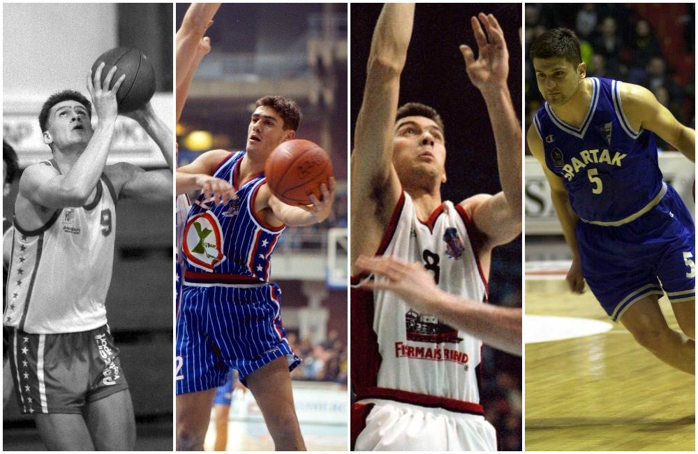 Dejan Koturović, Dragan Marković, Nenad Čanak, Vladimir Đokić (KK Spartak Subotica)