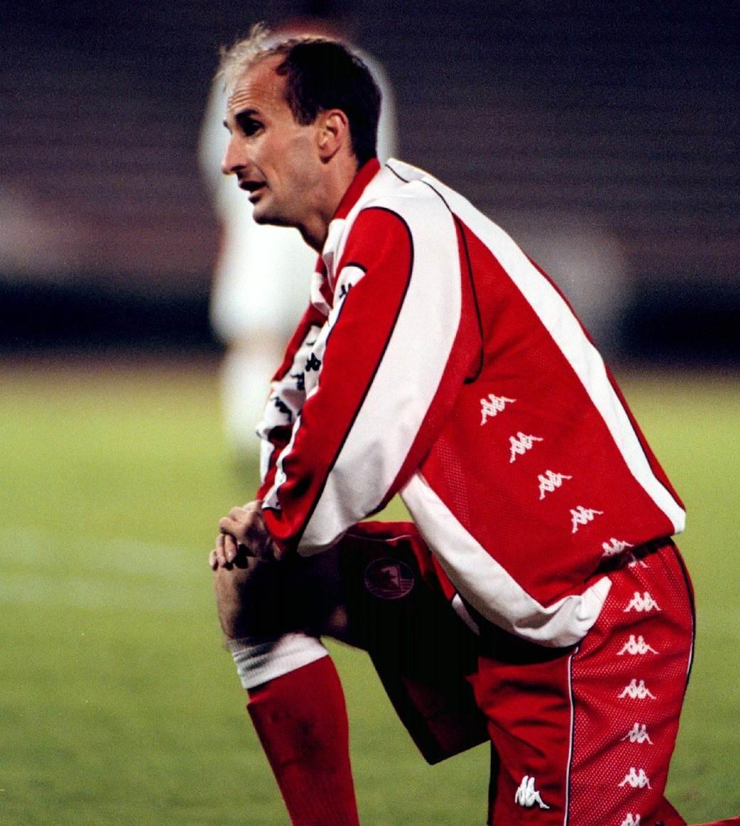 Dragan Mićić, bivši fudbaler Crvene zvezde.