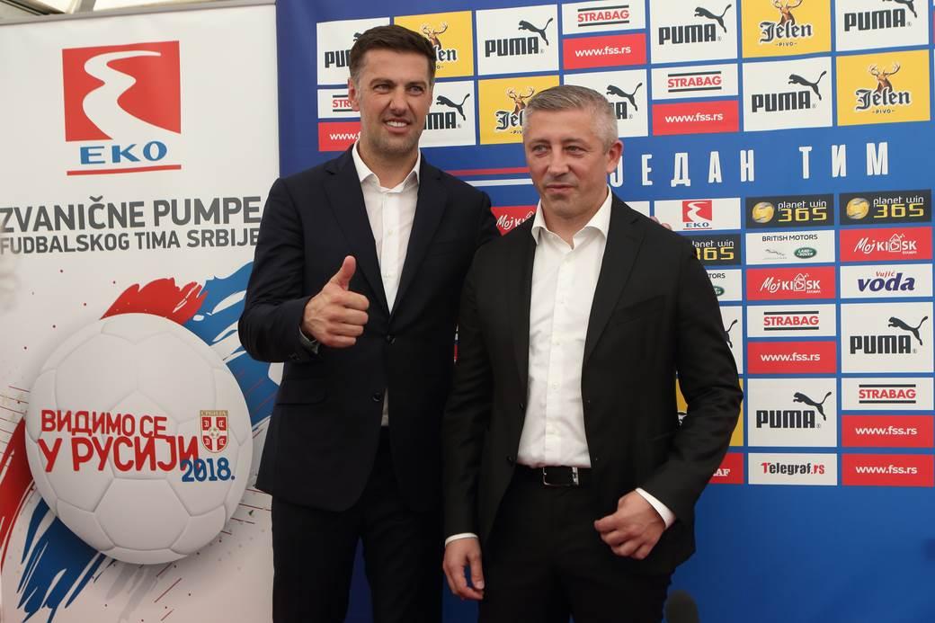 Mladen Krstajić i Slavoljub Muslin.