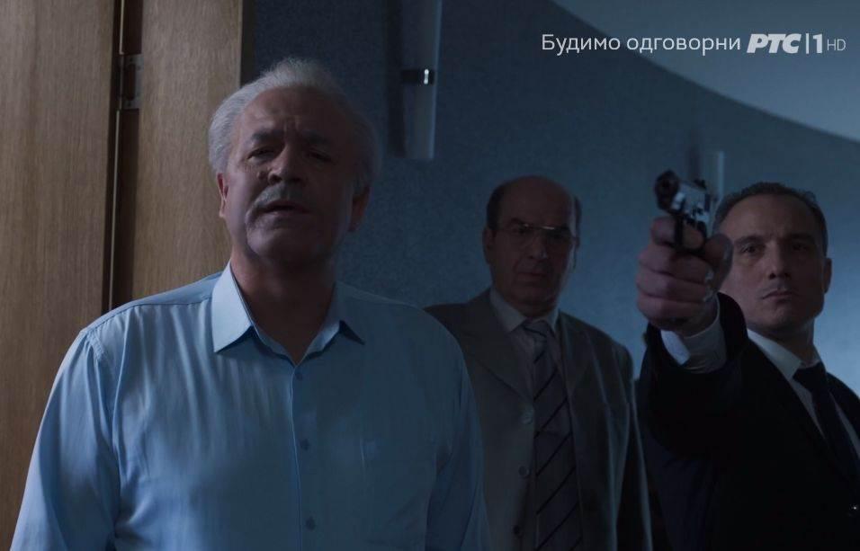 Serija Porodica, Boris Isaković kao Slobodan Milošević