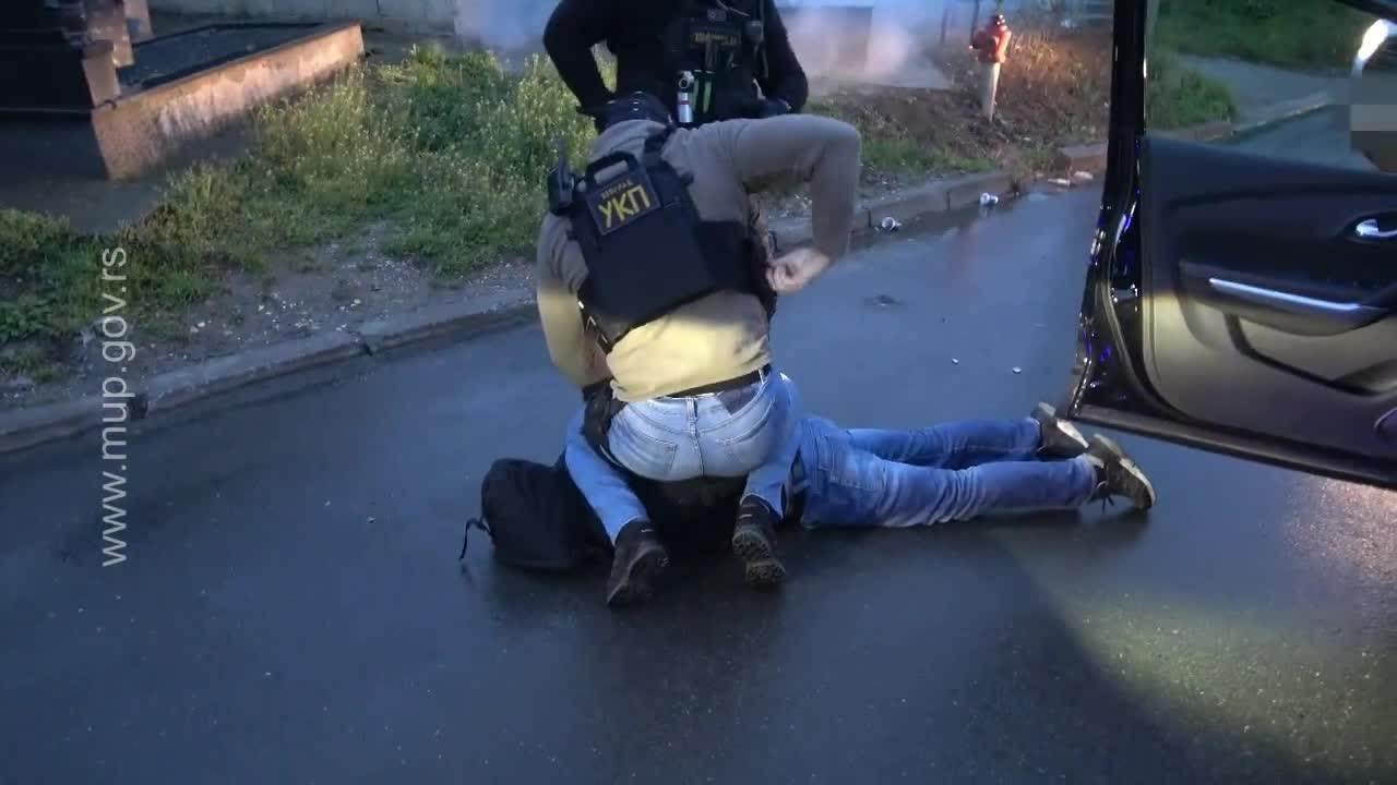 MUP Republike Srbije hapsenje