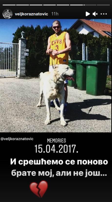 VELJKO RAŽNATOVIĆ SAOPŠTIO TUŽNE VESTI: Srešćemo se ponovo brate moj! |  Zvezde i tračevi