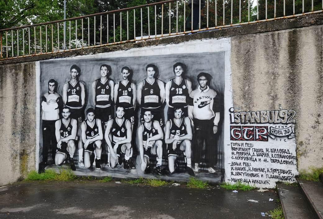Partizan prvak Evrope 1992. godine.