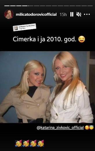 Milica Todorović, Katarina Živković
