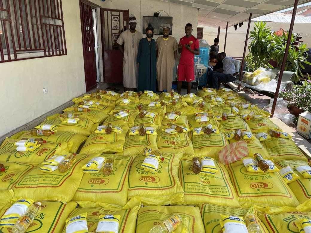 sejduba suma, humanitarna pomoć