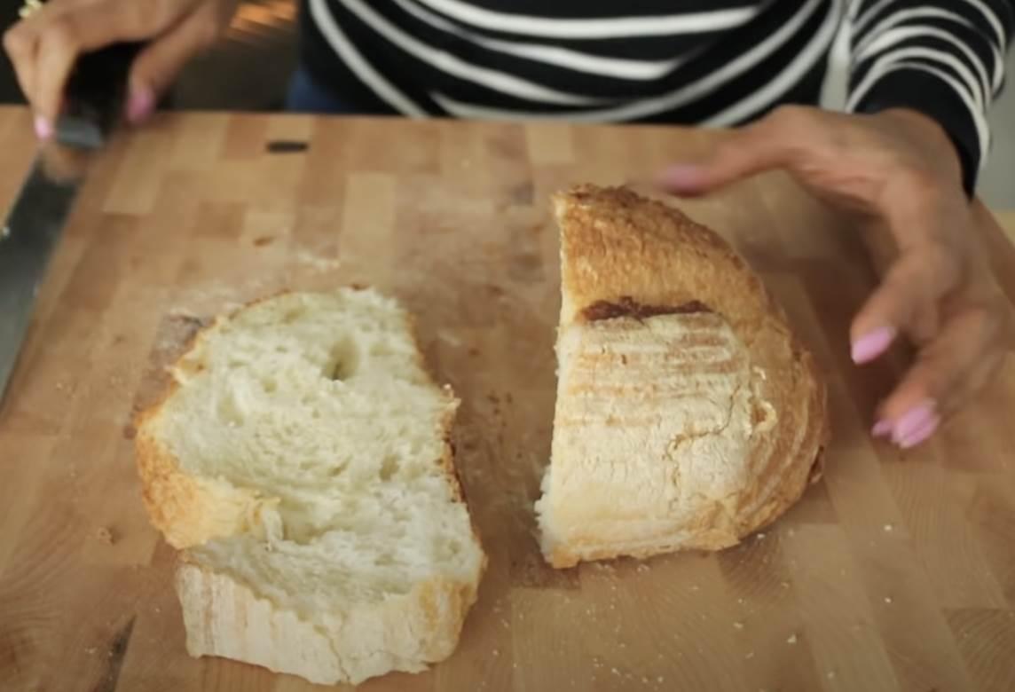 hleb na dasci