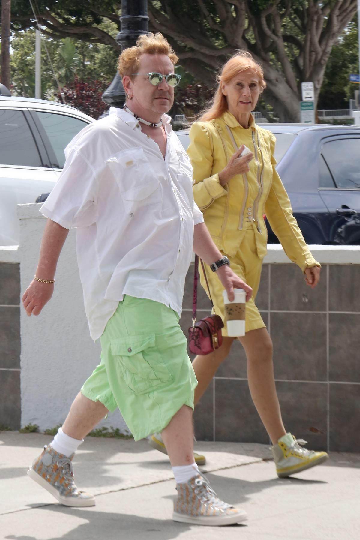 Džon Lidon supruga Nora Foster
