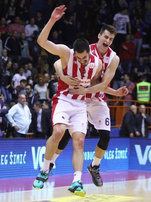 BASKETBALL;PLAY OFFS FINAL;ADRIATIC ABA LEAGUE;CRVENA ZVEZDA;RED STAR;CEDEVITA