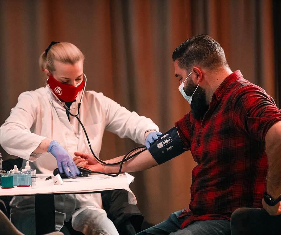 MaxBet, davanje krvi, dobrovoljno davanje krvi