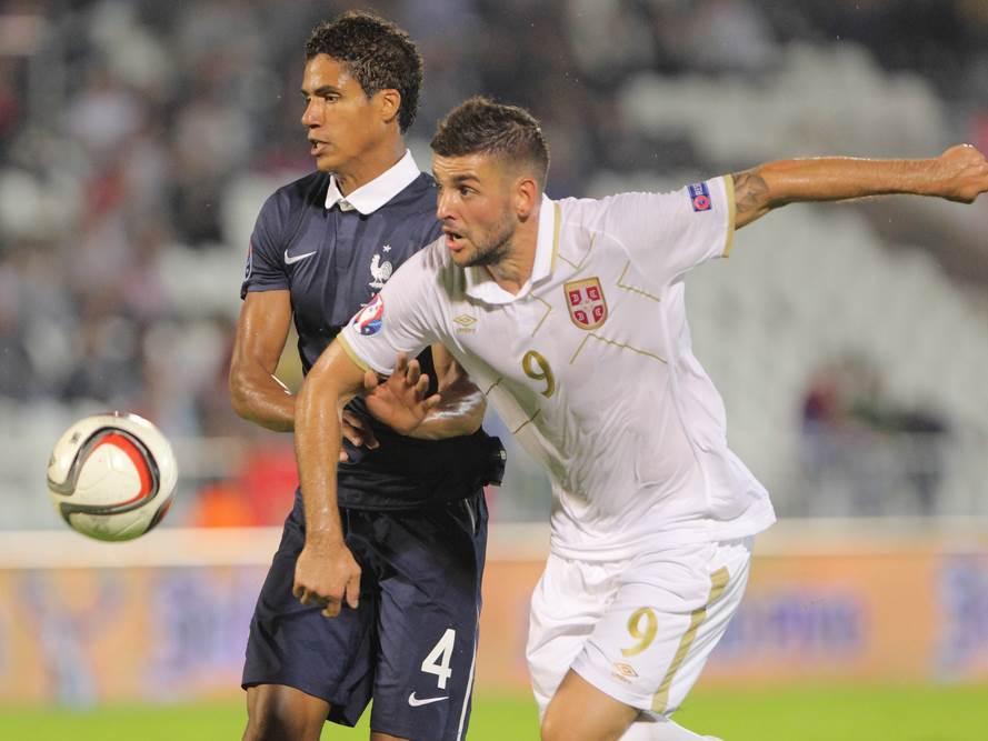 FOOTBALL;SERBIA;FRANCE;FRIENDLY MATCH;UEFA EUROPEAN CHAMPIONSHIP QUALIFICATION