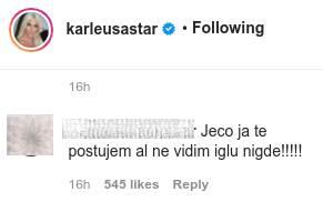Jelena Karleuša vakcinacija