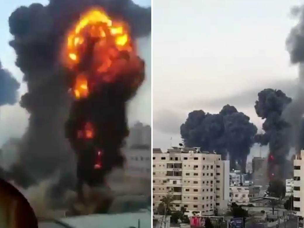 palestina izrael bombardovanje