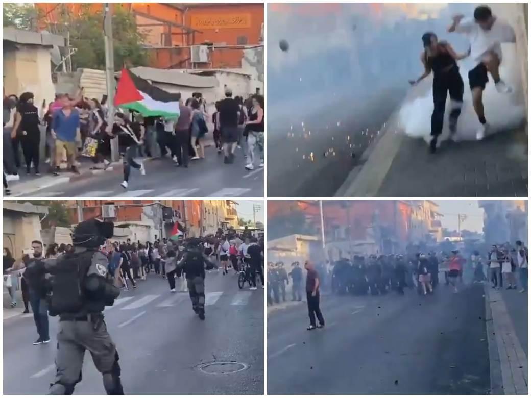 Palestina protesti
