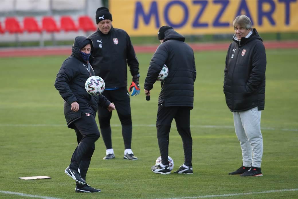 FOOTBALL;SERBIA;PRACTICE