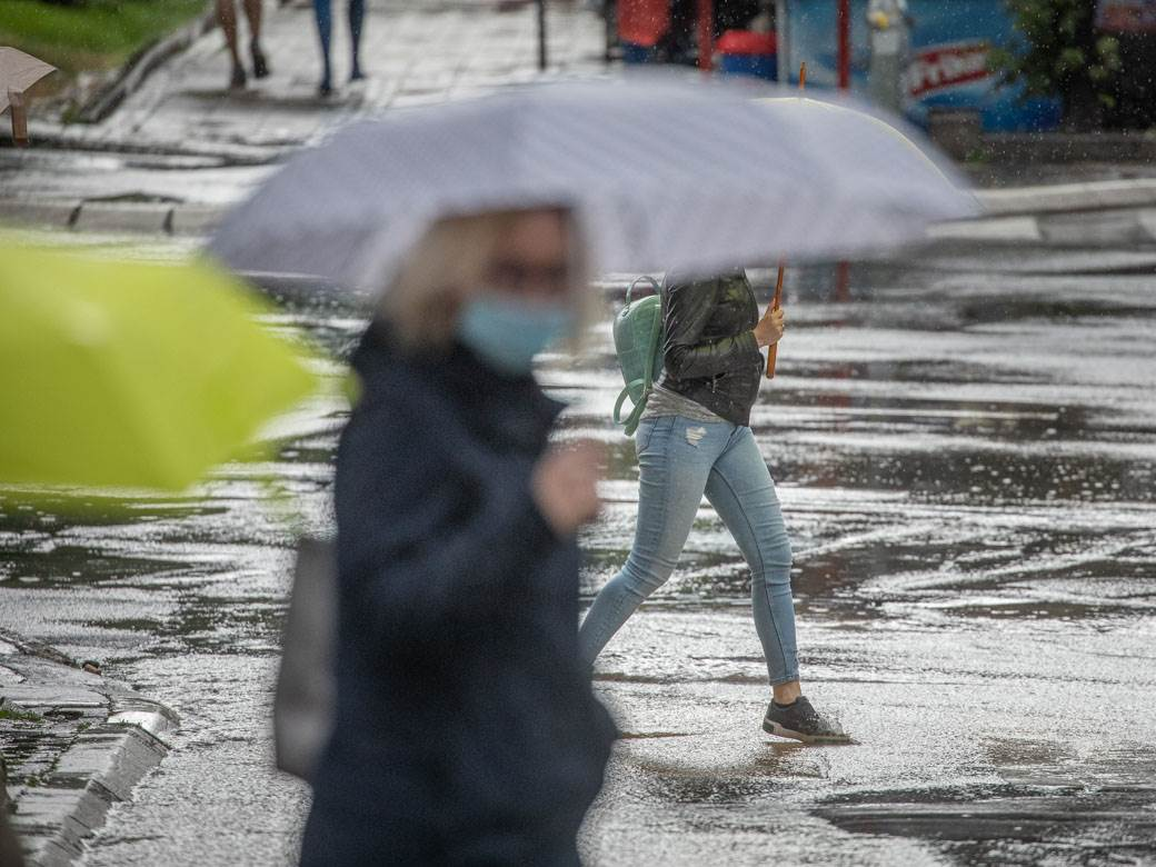 kiša, jesen, beograd, nevreme, loše vreme, pljusak, kisa