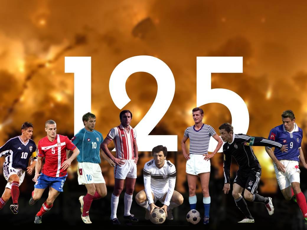 125 godina fubala u Srbiji
