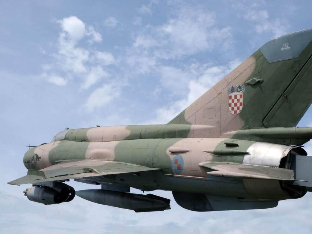 Avion hrvatska