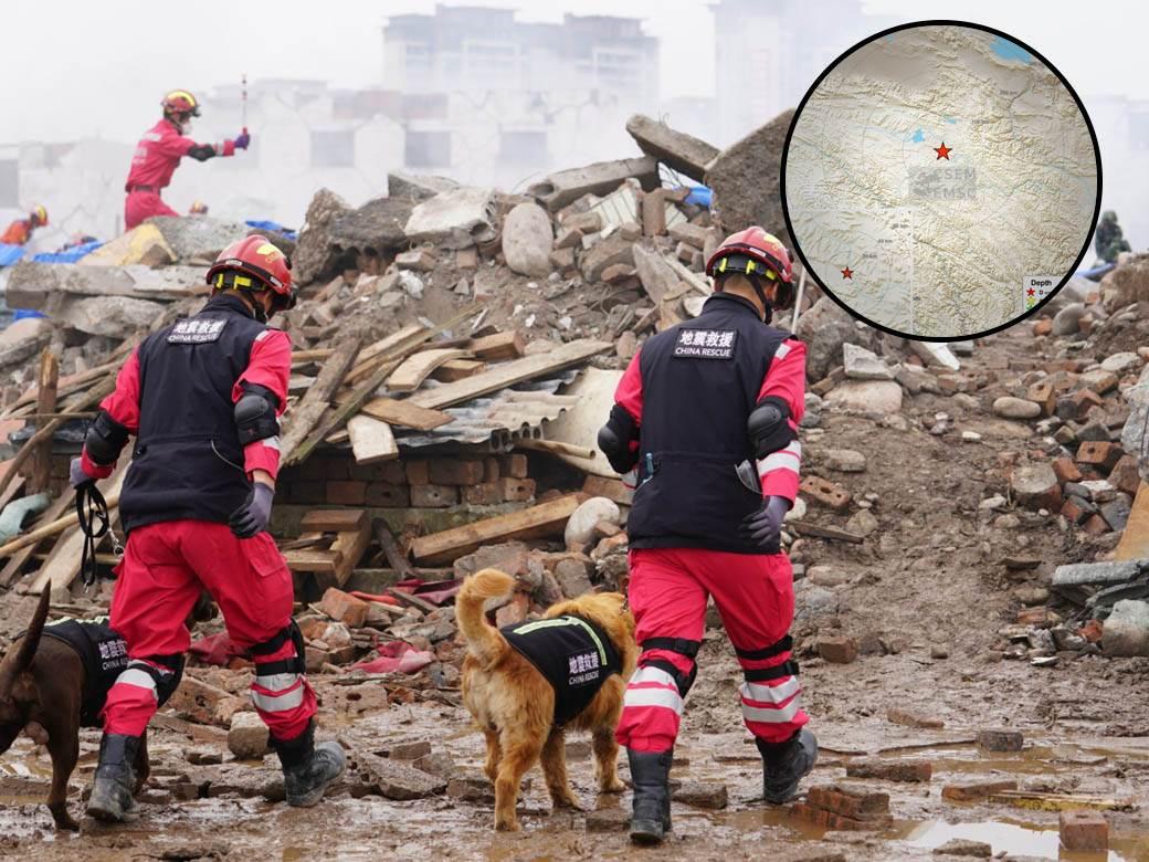 kina zemljotres
