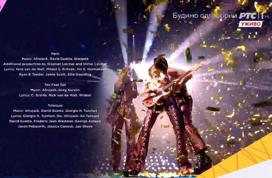 Damiano David, Eurosong