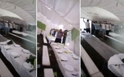 Nevreme na svadbi u Brajkovcu