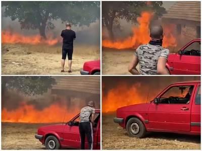 požar u koritima