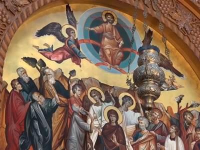 freska svetci