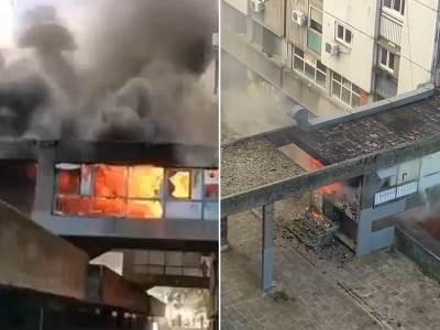 Blok 61 Požar