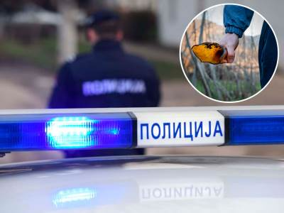 Policija slomljena flaša