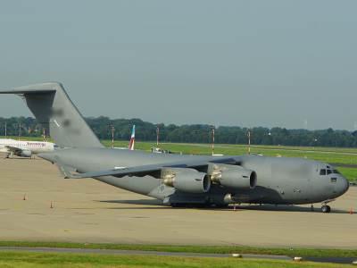 C17 Air Force, Avion